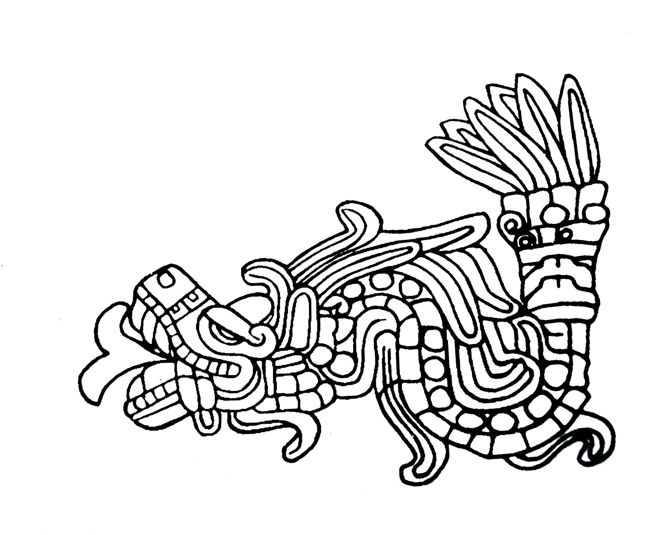 Los mejores Tatuajes de Quetzalcoatl (Serpiente emplumada) 33
