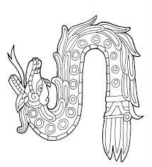 Los mejores Tatuajes de Quetzalcoatl (Serpiente emplumada) 36
