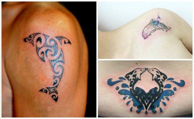 72 Ideas con Tatuajes de Delfines (+Significados) 66