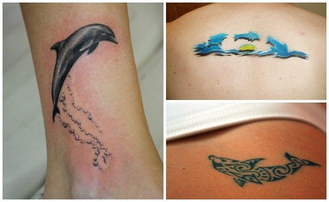 72 Ideas con Tatuajes de Delfines (+Significados) 72