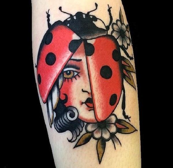 62 Ideas de Tatuajes de Escarabajos (+Significados) 42