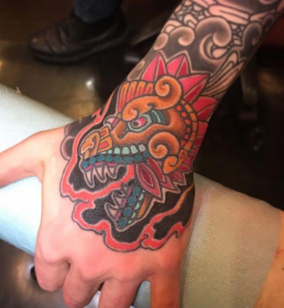 Los mejores Tatuajes de Quetzalcoatl (Serpiente emplumada) 16