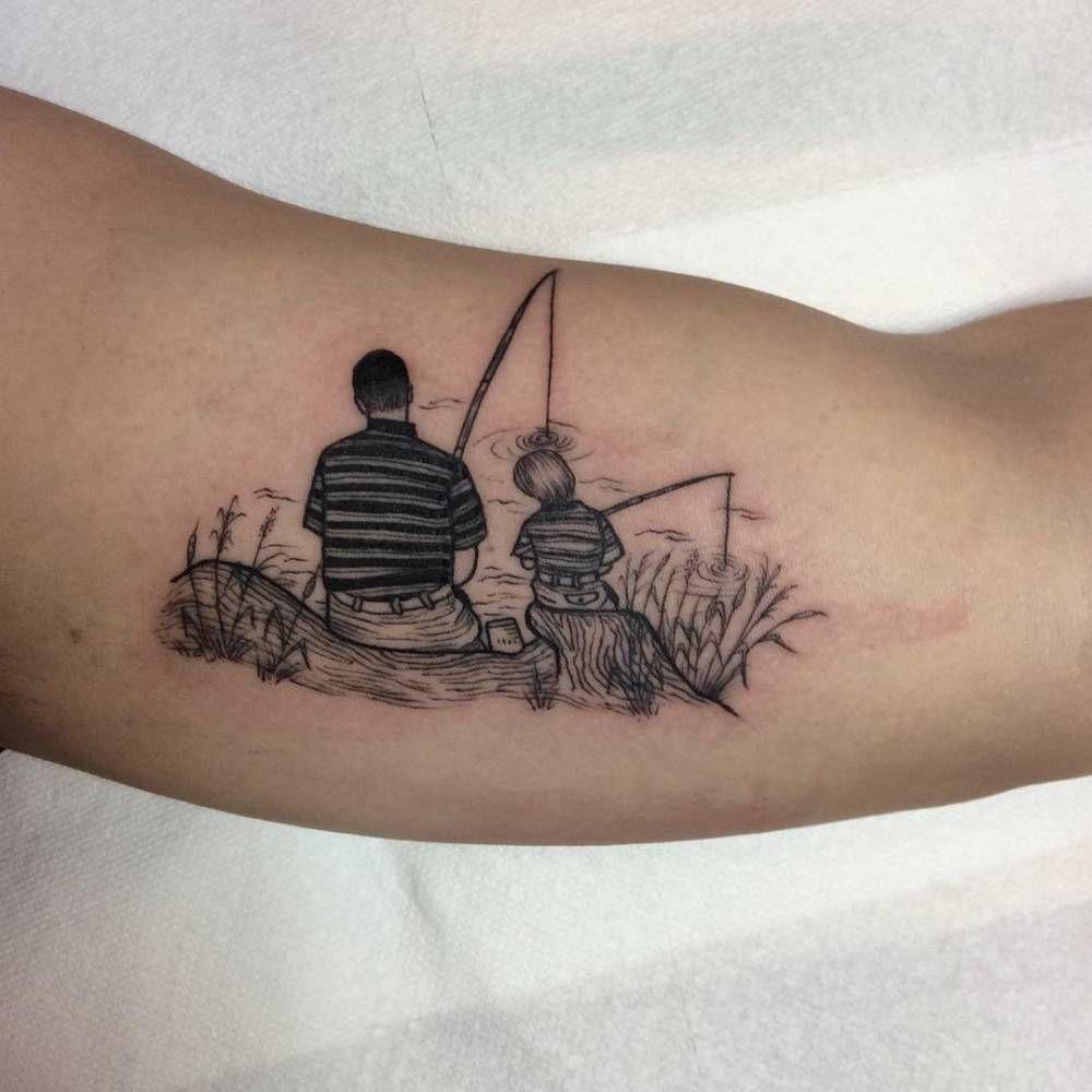 Ideas para Tatuajes de Pesca y Anzuelos 34