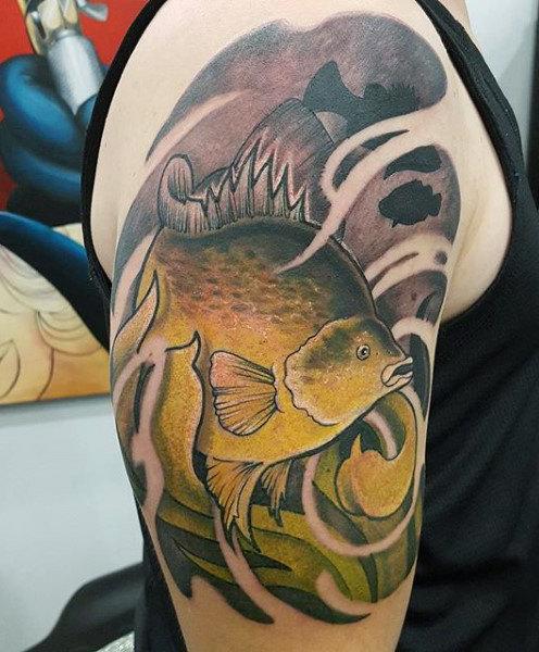 Ideas para Tatuajes de Pesca y Anzuelos 42