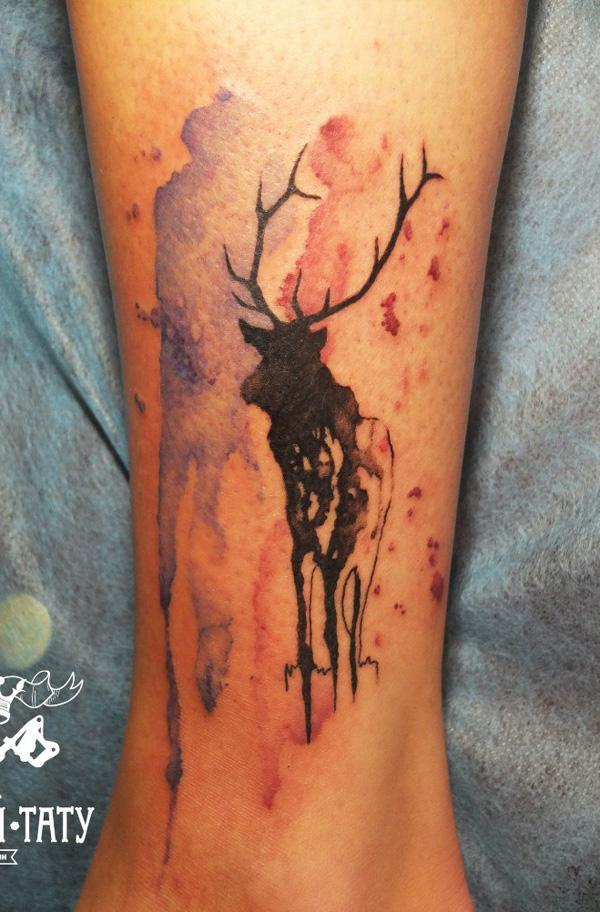 89 Ideas para Tatuajes de Ciervos (+Significado) 79