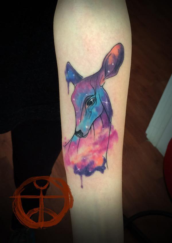 89 Ideas para Tatuajes de Ciervos (+Significado) 32