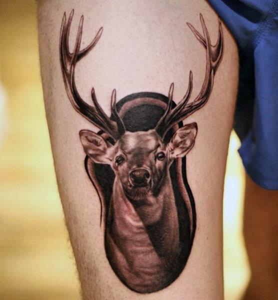 89 Ideas para Tatuajes de Ciervos (+Significado) 4