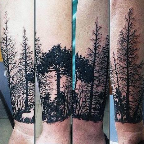 89 Ideas para Tatuajes de Ciervos (+Significado) 5