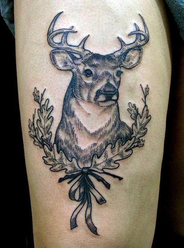 89 Ideas para Tatuajes de Ciervos (+Significado) 10