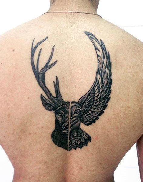 89 Ideas para Tatuajes de Ciervos (+Significado) 13