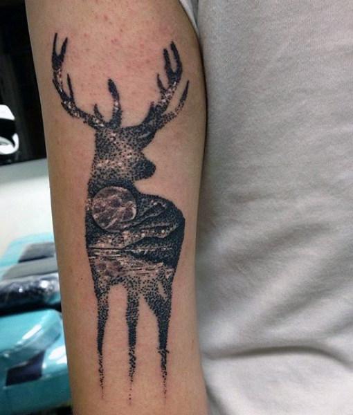 89 Ideas para Tatuajes de Ciervos (+Significado) 14