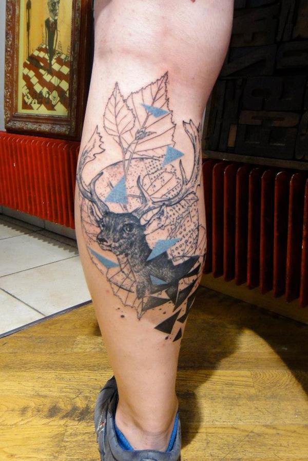 89 Ideas para Tatuajes de Ciervos (+Significado) 39