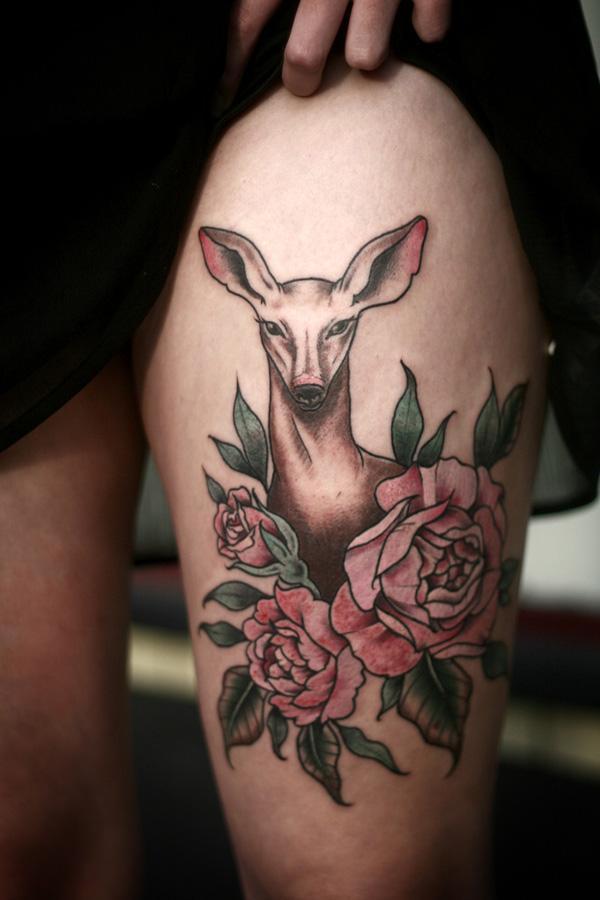 89 Ideas para Tatuajes de Ciervos (+Significado) 25