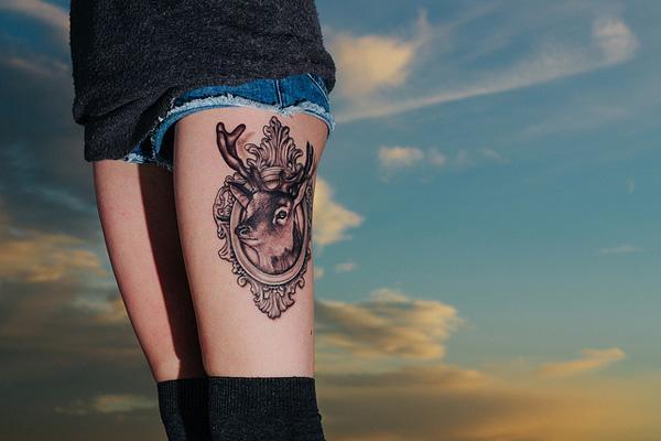 89 Ideas para Tatuajes de Ciervos (+Significado) 16