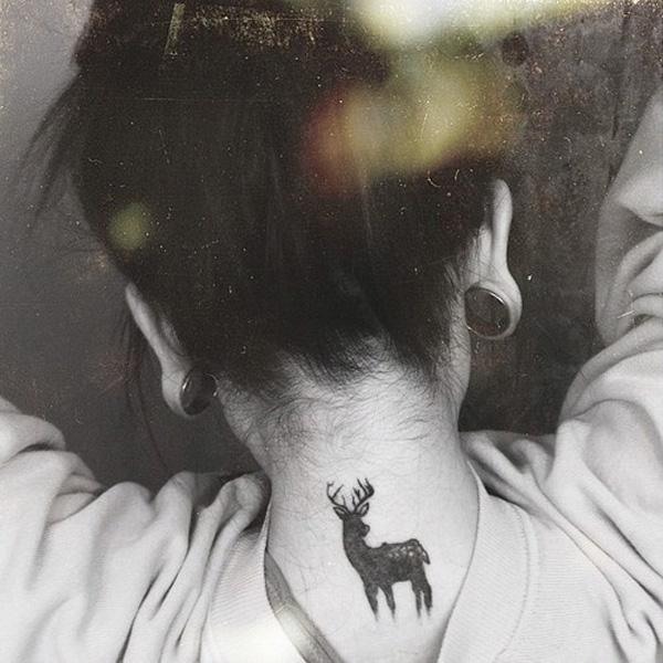 89 Ideas para Tatuajes de Ciervos (+Significado) 19