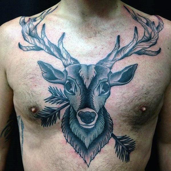 89 Ideas para Tatuajes de Ciervos (+Significado) 51