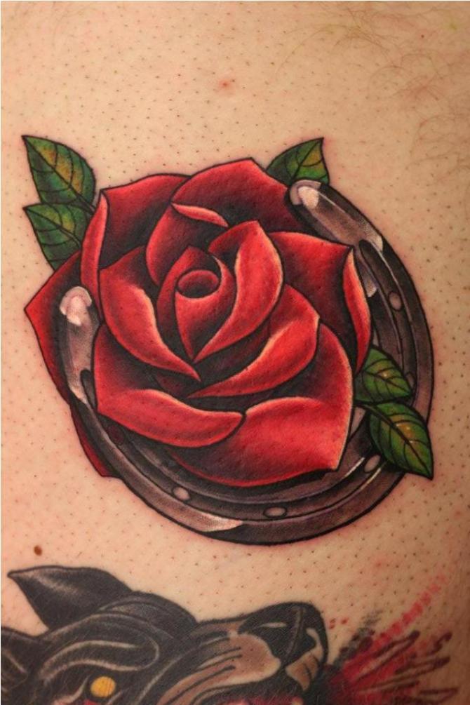 78 Ideas para Tatuajes de Herraduras (+Significado) 5