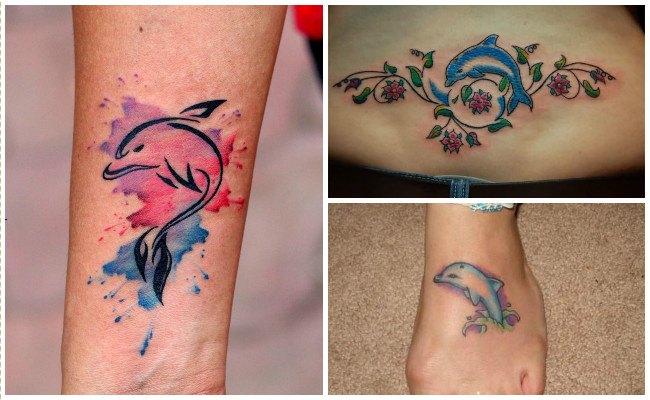 72 Ideas con Tatuajes de Delfines (+Significados) 87