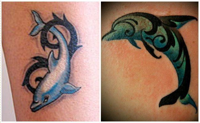 72 Ideas con Tatuajes de Delfines (+Significados) 77