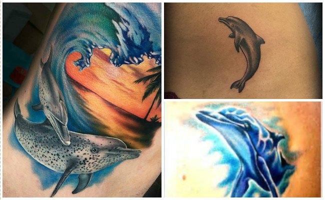 72 Ideas con Tatuajes de Delfines (+Significados) 83