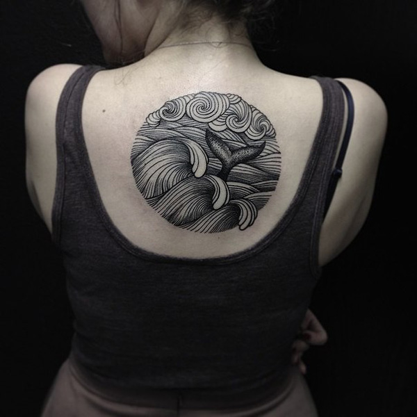 72 Ideas con Tatuajes de Delfines (+Significados) 13
