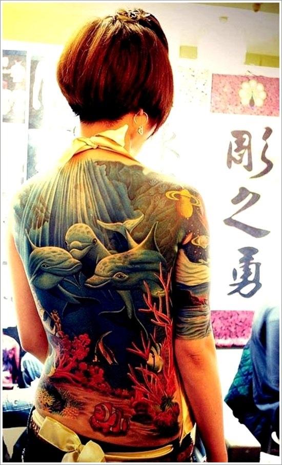 72 Ideas con Tatuajes de Delfines (+Significados) 41