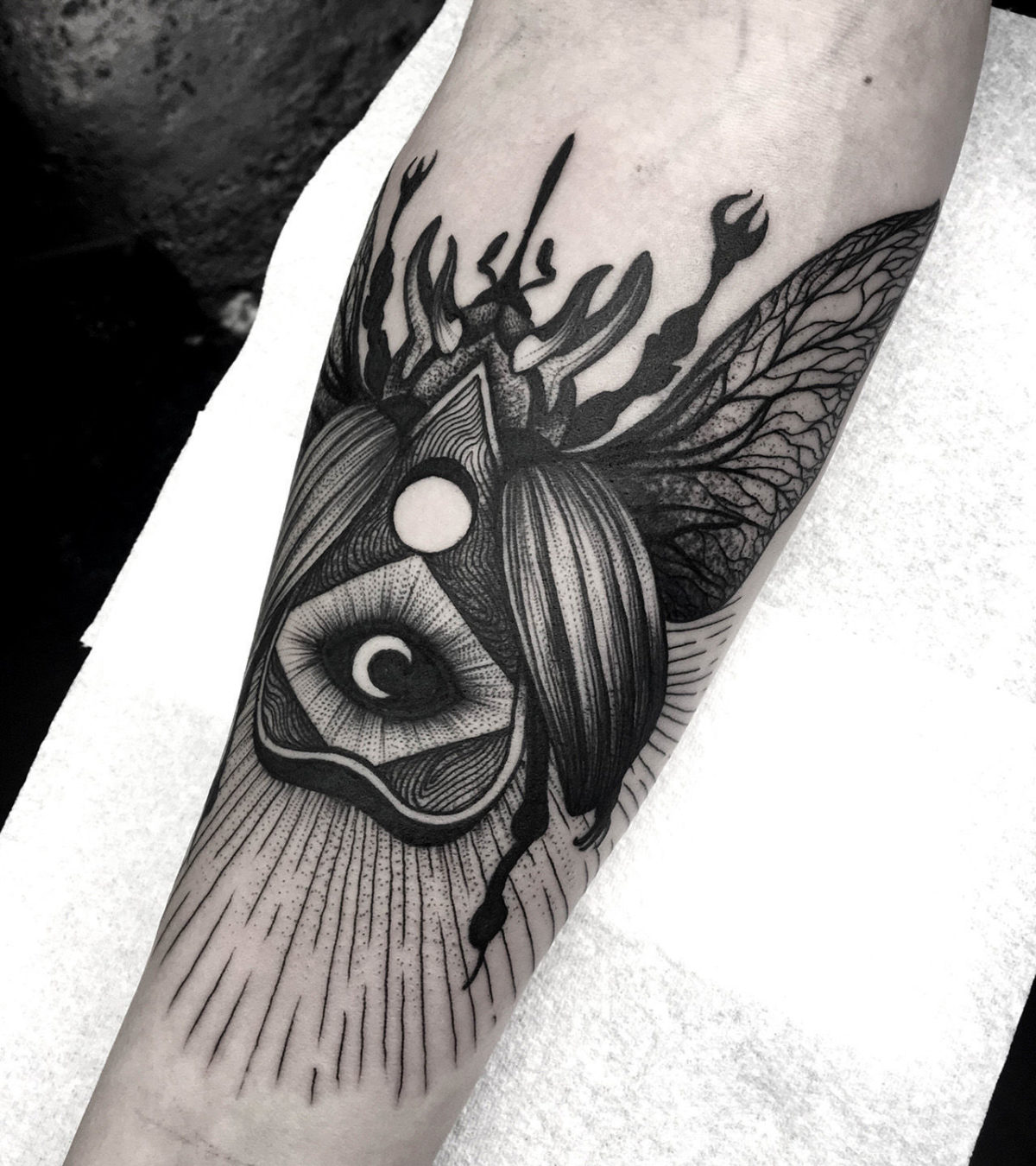 62 Ideas de Tatuajes de Escarabajos (+Significados) 6