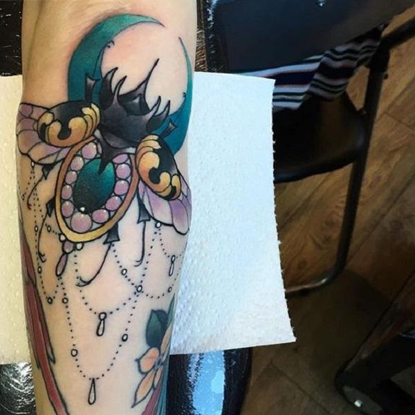 62 Ideas de Tatuajes de Escarabajos (+Significados) 28