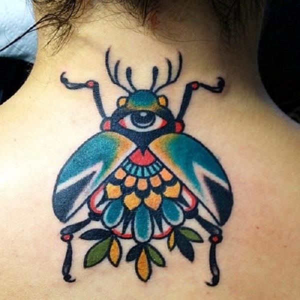 62 Ideas de Tatuajes de Escarabajos (+Significados) 15
