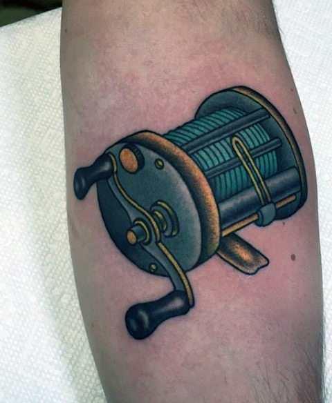 Ideas para Tatuajes de Pesca y Anzuelos 12