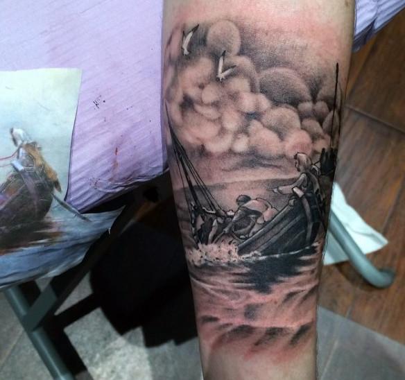 Ideas para Tatuajes de Pesca y Anzuelos 26