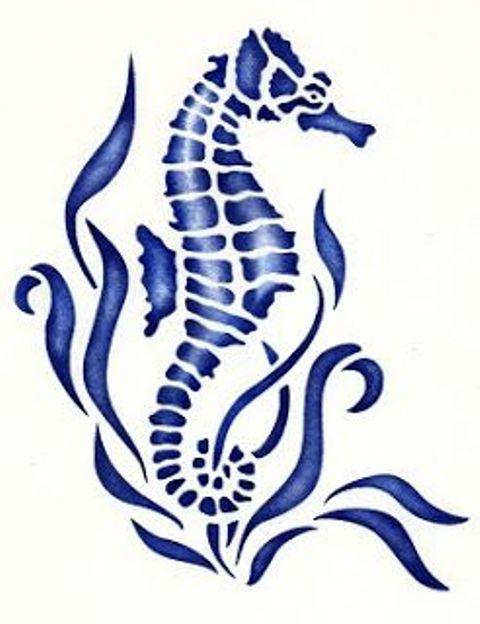 69 Ideas para Tatuajes de Caballitos de mar (+ Significado) 51