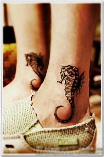 69 Ideas para Tatuajes de Caballitos de mar (+ Significado) 10