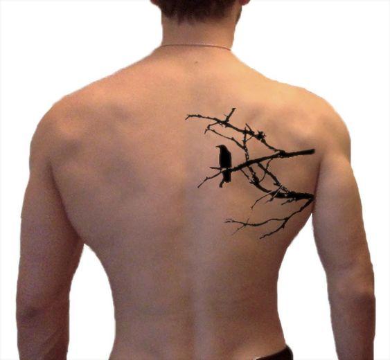69 Ideas para Tatuajes de Cuervos (+ Significados) 16