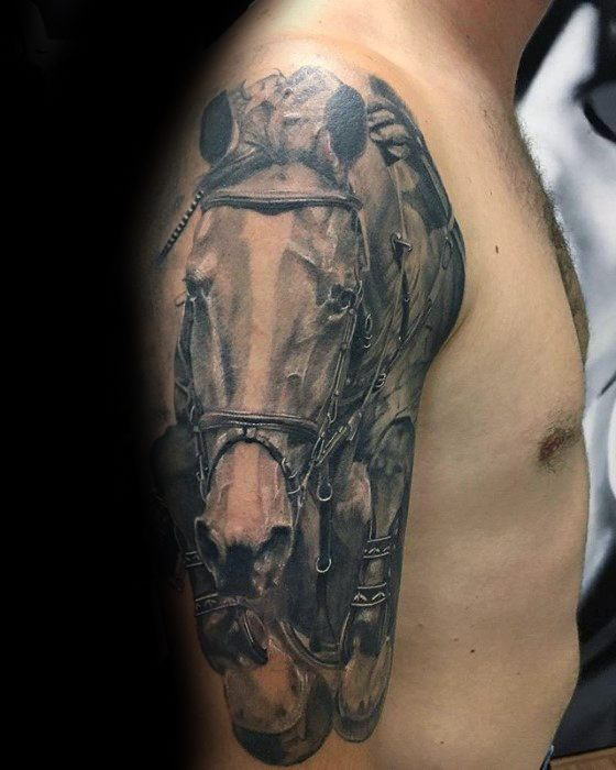73 Ideas para Tatuajes de Caballos (+ Significados) 30