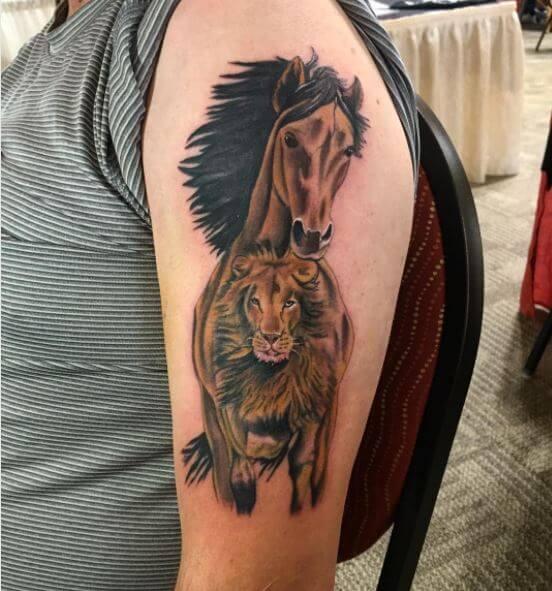 73 Ideas para Tatuajes de Caballos (+ Significados) 31