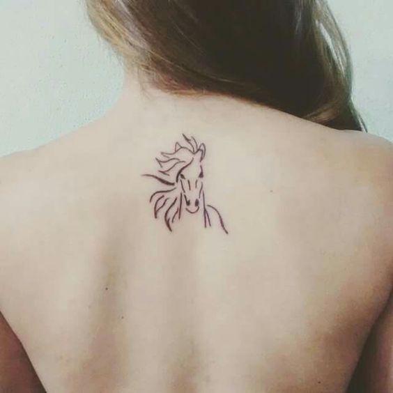 73 Ideas para Tatuajes de Caballos (+ Significados) 46