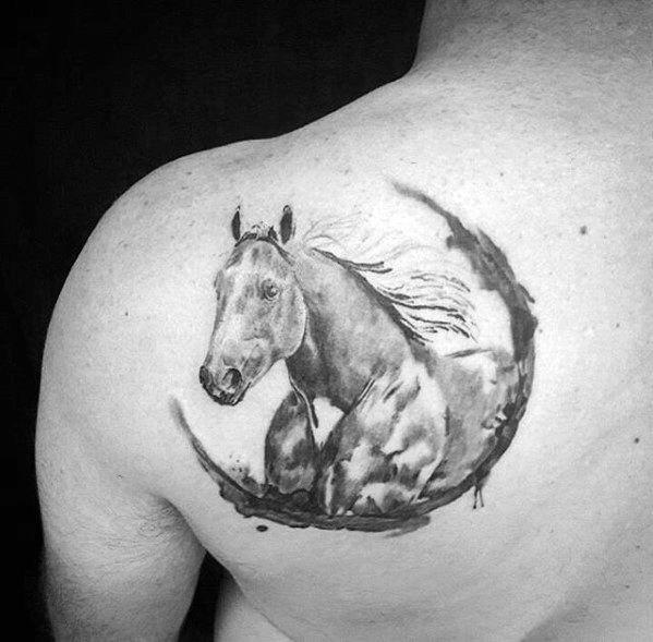73 Ideas para Tatuajes de Caballos (+ Significados) 50