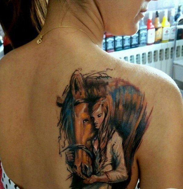 73 Ideas para Tatuajes de Caballos (+ Significados) 51