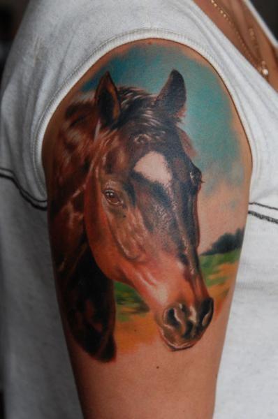 73 Ideas para Tatuajes de Caballos (+ Significados) 41