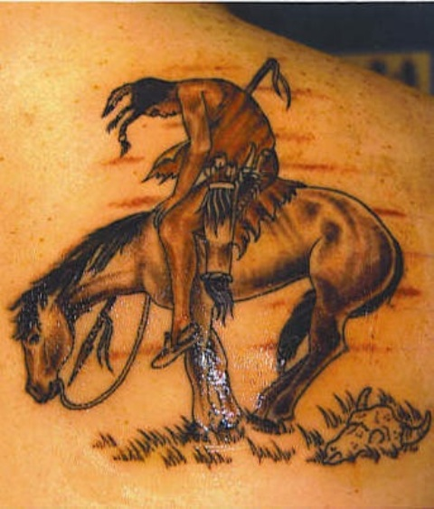 73 Ideas para Tatuajes de Caballos (+ Significados) 43