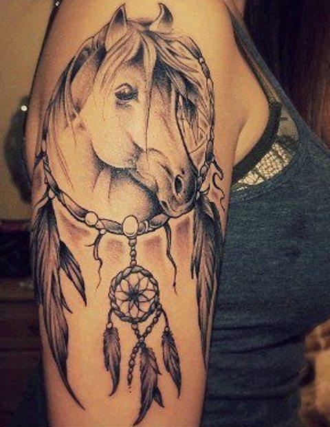 73 Ideas para Tatuajes de Caballos (+ Significados) 45