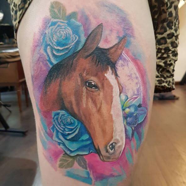 73 Ideas para Tatuajes de Caballos (+ Significados) 4