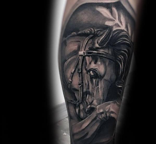 73 Ideas para Tatuajes de Caballos (+ Significados) 8