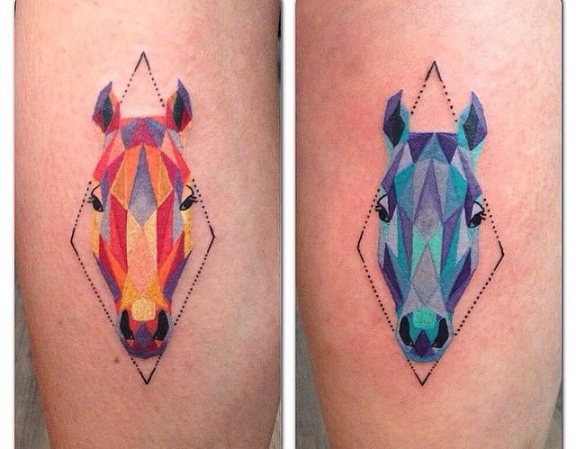 73 Ideas para Tatuajes de Caballos (+ Significados) 35