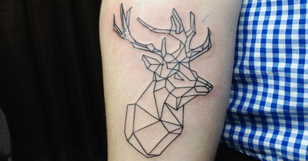 72 Ideas para Tatuajes de Venados (Con Significados) 1