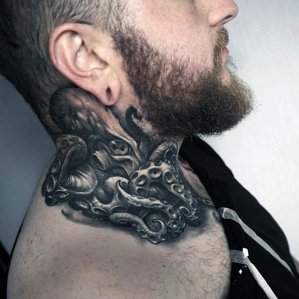 96 Ideas para Tatuajes de Pulpos (Kraken) con Significados 78