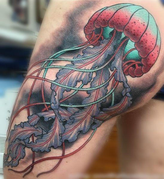 Tatuajes de Medusas: 50 Ideas y sus Significados (+Leyenda) 12