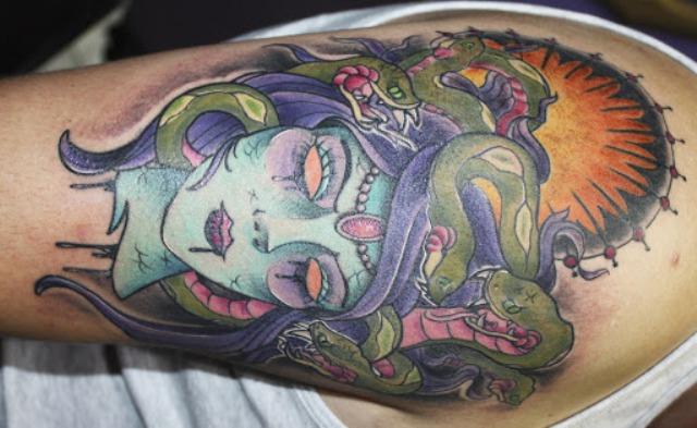 Tatuajes de Medusas: 50 Ideas y sus Significados (+Leyenda) 51