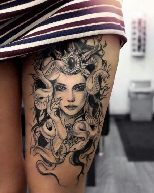 Tatuajes de Medusas: 50 Ideas y sus Significados (+Leyenda) 50